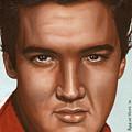 Elvis 24 1958 by Rob De Vries