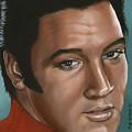 Elvis 24 1968 by Rob De Vries