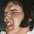 Elvis 24 1977 by Rob De Vries