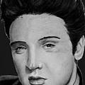 Elvis A Presley by Bill Richards