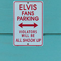 Elvis Fans Parking by Jurgen Lorenzen