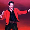 Elvis Presley 4 Painting by Paul Meijering