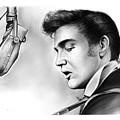Elvis Presley by Greg Joens