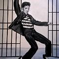 Elvis Presley Jailhouse Rock by Eric Dee