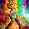 Elvis Presley by Leland Castro