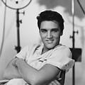 Elvis Presley On Set During Movie Making by Peter Nowell