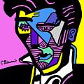 Elvis Presley Poster by C Baum