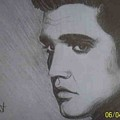 Elvis Presley The King by Charlie Rayment