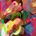 Elvis Rockabilly  by David Lloyd Glover