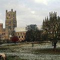 Ely Cambridgeshire, Uk.  Ely Cathedral  by Richard Wareham