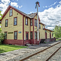 Ely Vermont Train Station by Edward Fielding