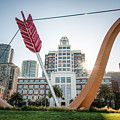 Embarcadero Bow And Arrow by Mark Chandler
