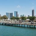 Embarcadero Marina Park South Pier Close Up by Robert VanDerWal