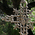Embellished Cross by Peter Piatt