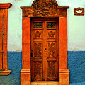 Embellished Puerta by Mexicolors Art Photography