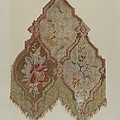 Embroidered Table Scarf by Mabel S. Kelton