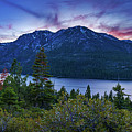 Emerald Bay Dusk By Brad Scott by Brad Scott