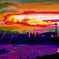 Emerald City Sunset by Tim Allen