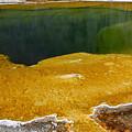 Emerald Pool Yellowstone National Park by Teresa Zieba