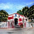 Emiles Road Side Grocer by Donna Walsh
