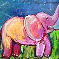 Emily's Elephant 2 by Laurie Maves ART