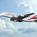 Emirates A380-800 A6-eer by J Biggadike