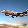 Emirates Boeing 777f A6-efm by J Biggadike
