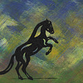 Emma II - Abstract Horse by Manuel Sueess