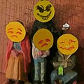 Emoji Family Victims Of Substance Abuse by John Malone