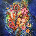 Emotion In Blue by Elena Kotliarker