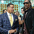 Empire Lucious And Snoop Dog by Marvin Blaine