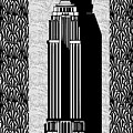 Empire State Building Deco Swing by Cecely Bloom