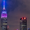 Empire State Building Esb At Night by Susan Candelario