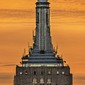 Empire State Building Esb Broadcasting Nyc by Susan Candelario