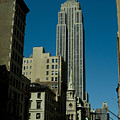 Empire State Building Seen From Street by Todd Gipstein