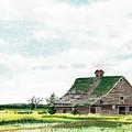 Empty Barn by David Wolfer