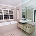 Empty Bathroom by Darren Burton