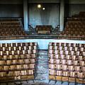 Empty Movie Theater - Urban Exploration by Dirk Ercken
