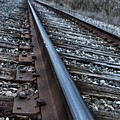 Empty Railroad Tracks by J M Lister