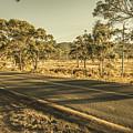 Empty Regional Australia Road by Jorgo Photography - Wall Art Gallery