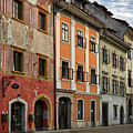 Empty Street In Slovenia by Stuart Litoff