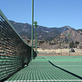 Empty Tennis Courts by Ric Bascobert