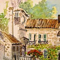 En Plein Air At Moulin De La Roque France by Joanne Smoley