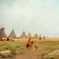 Encampment by Frederick Schafer