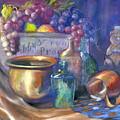 Enchanced Still Life Honey Bear by Penny Neimiller