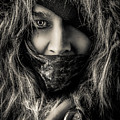 Enchanted Concept Black And White by Michael Arend