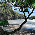 Enchanted Rocks Koki Beach Haneoo Hana Maui Hawaii by Sharon Mau