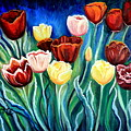 Enchanted Tulips by Elizabeth Robinette Tyndall