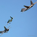 Encore Fly-over by DigiArt Diaries by Vicky B Fuller