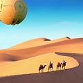 Encounter In The Gobi by Dominic Piperata